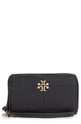 Tory Burch Women's Ivy Leather Smartphone Wristlet Black