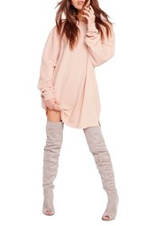 Missguided Women's Oversize Pullover Dress