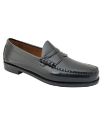 Bass Larson Penny Loafers Men's Shoes Black