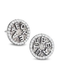 Coomi Sagrada Familia Create Beauty Stud Earrings With Diamonds