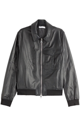 J.W.Anderson Leather Bomber Jacket
