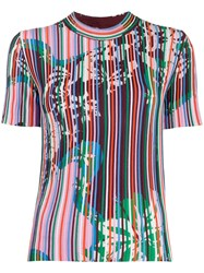 Emilio Pucci Vahine Printed Knitted Top 60