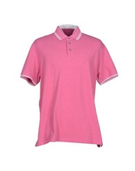 Cruciani Topwear Polo Shirts Men Light Purple