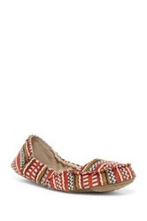 Sanuk Elle V. Eight Tx Flat Women Red