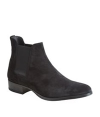 Tom Ford Roos Suede Chelsea Boot Black