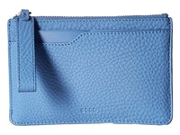 Ecco Jilin Zipped Wallet Stonewash Wallet Handbags Blue