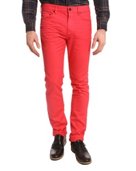 Marc By Marc Jacobs Texture Fuchsia Pink Jeans