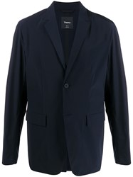 Theory Fitted Button Blazer 60