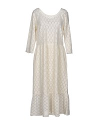 Leon And Harper 3 4 Length Dresses Ivory