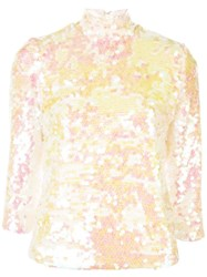 Milly Sequined Blouse Multicolour