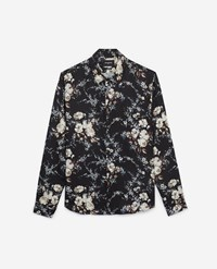 The Kooples Chic Printed Shirt With Floral Motif Viscose
