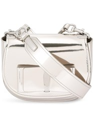 Salvatore Ferragamo Anna Crossbody Metallic