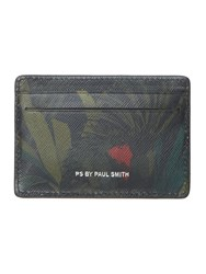 Paul Smith Ps By Jungle Print Card Holder Multi Coloured Multi Coloured