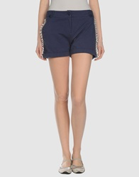 Bea Yuk Mui Bea Sweat Shorts Dark Blue