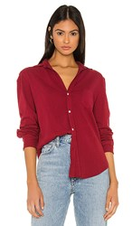 Frank And Eileen Tee Lab Button Down In Red. Bordeaux