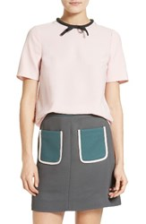 Ted Baker Women's London Sassa Tie Neck Top