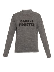 Alexa Chung For Ag The Sacred Monster Print T Shirt