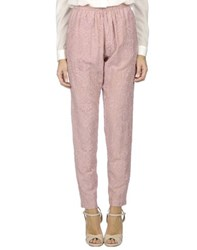 Masscob Trousers Casual Trousers Women Pastel Pink