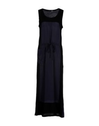 .Tessa Long Dresses Dark Blue