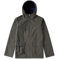 Fred Perry Hooded Zip Jacket Green