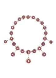 Lc Collection Ruby Pearl Disc Choker Metallic