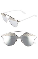 Christian Dior Women's 'So Real' Studded 59Mm Sunglasses Palladium White Palladium White