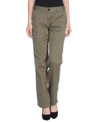 Shine Casual Pants Military Green