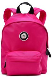 Versus By Versace Shell Backpack Bright Pink