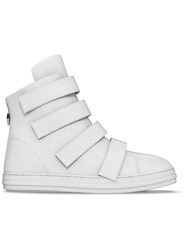 Myswear 'Bond' Hi Top Sneakers White
