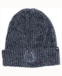 47 Brand '47 Indianapolis Colts Nfl Back Bay Cuff Knit Hat Heather Charcoal