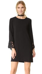 Wayf Sutton Shift Dress Black