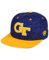 Top Of The World Georgia Tech Yellow Jackets Energy 2 Tone Snapback Cap Navy Yellow