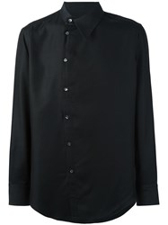 Tom Rebl Dislocated Fastening Shirt Black