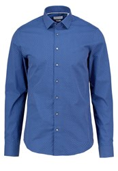 Ck Calvin Klein Bari Slim Fit Shirt Blue Dark Blue