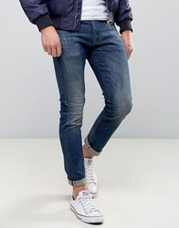 Denim And Supply Ralph Lauren Skinny Jeans Graham In Mid Vintage Wash Mid Wash Blue