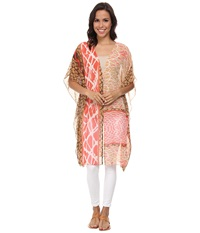 Nic Zoe Skipping Stones Caftan Multi Women's Coat