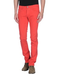 Etiqueta Negra Denim Pants Red