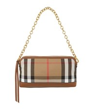 Burberry Shoes And Accessories House Check Clutch Bag Female Tan