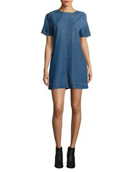 Calvin Klein Jeans Frayed Sleeves Cotton Dress Brady
