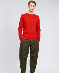 Aspesi Cashmere Sweater Lobster Orange
