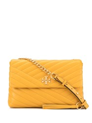 Tory Burch Kira Chevron Flap Shoulder Bag Yellow