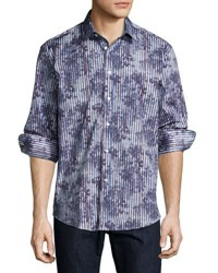 1 Like No Other Floral Print Sport Shirt Multi