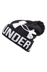 Women's Under Armour Logo Pompom Beanie