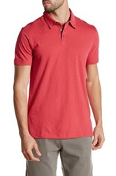 Tori Richard Down Time Short Sleeve Polo Red