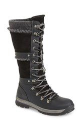 Bos. And Co. Gabriella Waterproof Boot Black Dark Grey Cromagnon