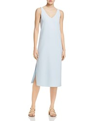 Dylan Gray Crepe V Neck Dress 100 Exclusive Ice Blue