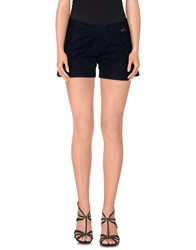 Amy Gee Trousers Shorts Women Dark Blue