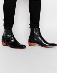 Jeffery West Zip Boots Black