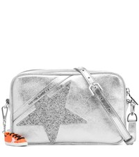 Golden Goose Star Metallic Leather Shoulder Bag