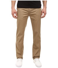 Quiksilver Everyday Union Stretch Chino Elmwood Men's Casual Pants Tan
